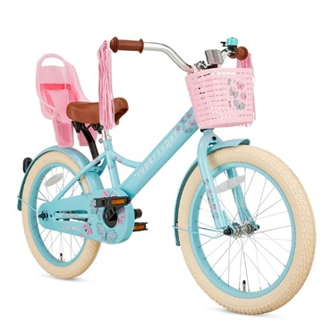 18 tommer pigecykel Little Miss Super Super Turquoise