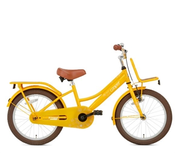 18 tommer pigecykel Cooper Bamboo gul