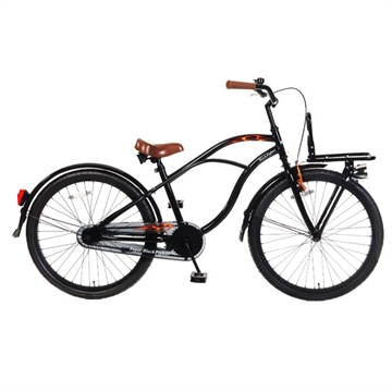 "Popal fighter 24"" cykel sort"