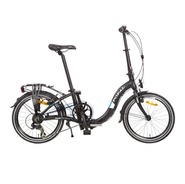 "Popal foldecykel 20"" 6 gear sort"