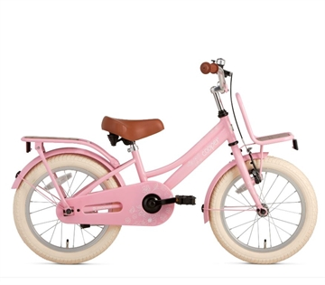 Popal 16 Tommer Pigecykel Cooper Bamboo roze
