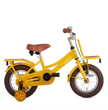 12 tommer pigecykel Cooper Bamboo gul