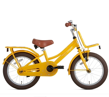 Popal 16 Tommer Pigecykel Cooper Bamboo gul