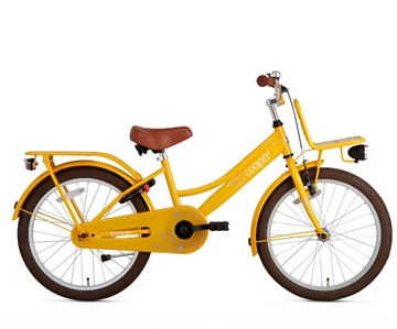 20 tommer pigecykel Cooper Bamboo gul