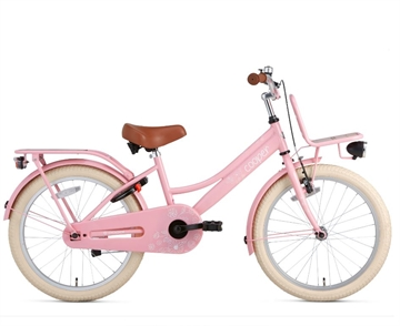 Popal 20 Tommer Pigecykel Cooper Bamboo roze